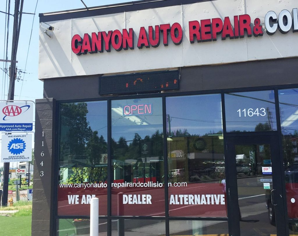 Canyon Auto Repair, Tigard