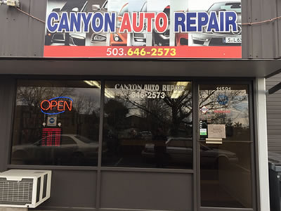 Canyon Auto Repair, Beaverton